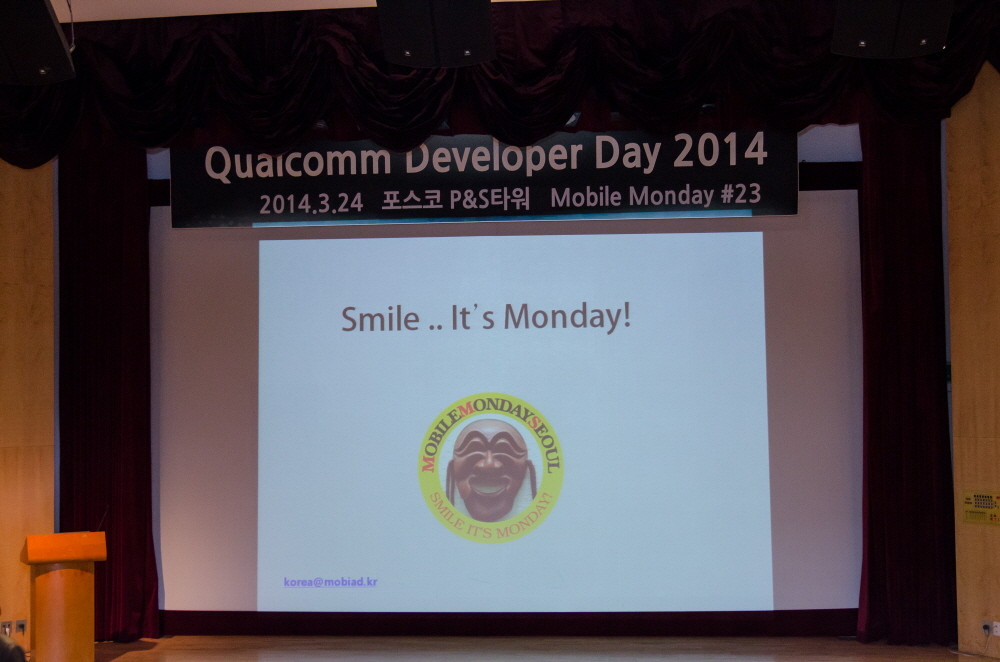 Photo: Qualcomm Developer Day 2014 – 23rd MoMo Seoul